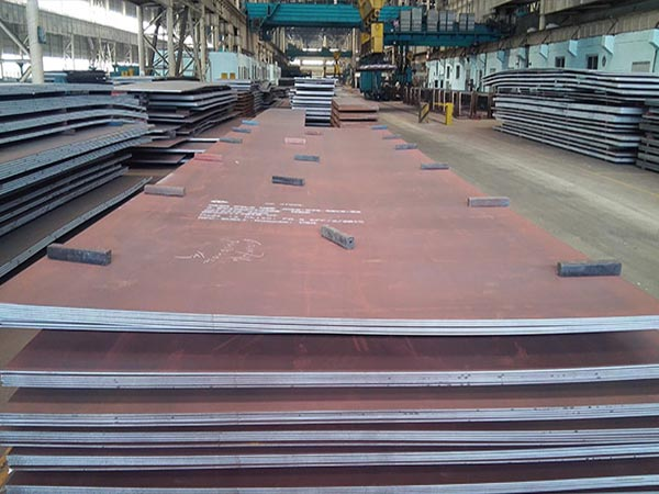 Price of Mild Steel Plate SA572 Grade 345 high strength steel plate Per Ton