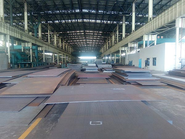 What is used to cut plates SA572 Grade 415 hot rolled alloy steel plate